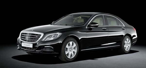 Бронированный Mercedes-Benz S-класса