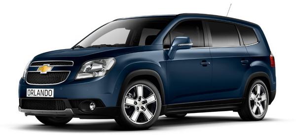Новый Chevrolet Orlando